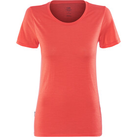 Icebreaker Tech Lite SS Low Crewe Shirt Women poppy red